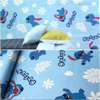 Wallpaper Dinding, Motif Kartun Stitch