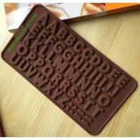 cetakan kue huruf alfabet