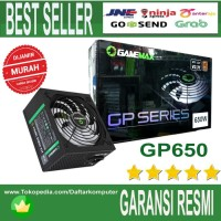 POWER SUPPLY GAMEMAX PSU 650W GP-650 - 80+ Bronze Certified