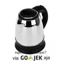 Fleco Teko Listrik Stainless Steel 1,8 L (Otomatis OFF)