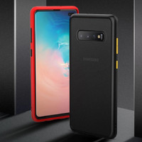 Samsung S10 Plus Shockproof Transparent Matte Case