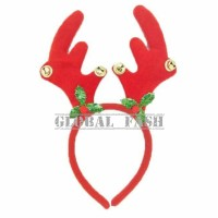bando tanduk rusa bunyi / aksesoris natal / hiasan / bando natal