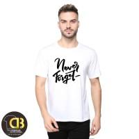T-Shirt Kaos Baju Distro Pria Wanita Size M L XL XXL 25A