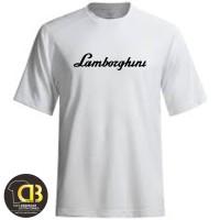 T-Shirt Kaos Baju Distro Premium Pria Wanita Lamborghini 22A