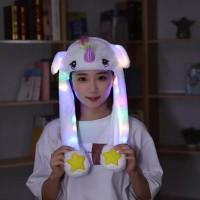 Unicorn Hat Led Termurah / Topi Lampu Unicorn