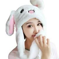 Allspecialist Topi Kelinci Bergerak Magic Bunny Rabbit Hat Lucu Murah