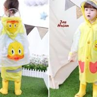 Jas Hujan Anak Motif Yellow Duck (Dengan Ruang Ransel)