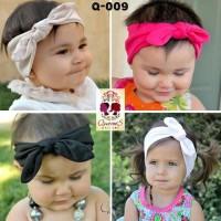 Turban Bandana Bayi Rabbit Kelinci Warna-Warni Bando   Baby Headband