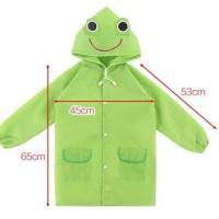 Children'S Cartoon Raincoat Jas Hujan Anak Funny Raincoat
