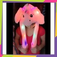 Topi Unicorn Lucu Import Lampu Led/Unicorn Hat Dance/Telinga Gerak 360