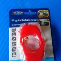 Lampu LED Sepeda GENIO DC 009 Isi 2 Pcs