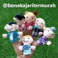 boneka jari seri keluarga (isi 6pcs)