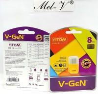 Flashdisk Atom 8GB V-Gen / USB Flash disk Vgen 8GB Original