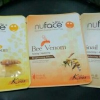 Kosmetik MURAH NUFACE PROMINENT ESSENCE FACIAL MASK MADE IN KOREA 23ML
