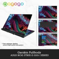 Garskin Laptop Skin Laptop Asus ROG G531GD G531G G531 Fullbody