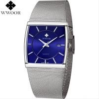 Promo Jam WWOOR Pria 8831 Luxury Blue Original - Jam Tangan CnzH59
