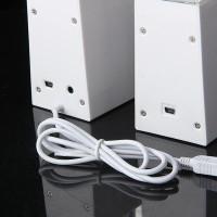 [import] 1Pasang Speaker Musik Air Mancur dengan Lampu LED Untuk