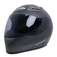 Cargloss New Sport One CR Visor Hardoat Helm Full Face - Gun Metal SG