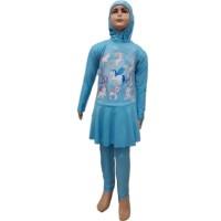 Baju Renang Anak Muslim SD Size L My Little Pony Unicorn Kuda Poni 1