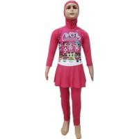 Baju Renang Muslim Anak TK Rok L LOL Surprise