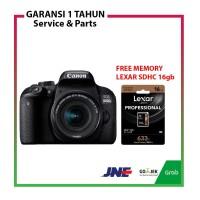 Canon DSLR EOS 800D 800 D Kit 18-55mm IS STM Free Memory Lexar 16gb