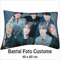 Bantal Foto Custom 40 x 60 1 HARI JADI!