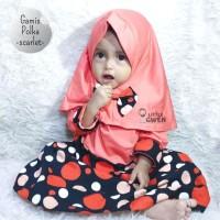 Gamis Little Gwen Motif - Gamis Bayi Balita dan Anak Perempuan 1 tahun