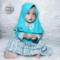 Gamis Little Gwen Motif Usia 1 Tahun - Gamis Bayi Balita Perempuan