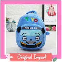 Tas Ransel Boneka Karakter Tayo Backpack Sekolah Anak Paud Import