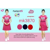 Dress Anak Lol Surprise Led Nyala import 316 /Terusan Anak Karakter