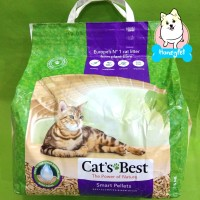 CATS BEST SMART PELLETS NATURAL WOOD PELLET PASIR KUCING 5KG