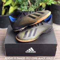 SEPATU FUTSAL ADIDAS X TANGO 19.3 CORE BLACK GOLD IC