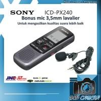 SONY ICD-PX240 VOICE RECORDER internal 4GB PLUS EXT MIC