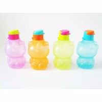 Botol Minum Flip Top Hello Kitty 450ml / Botol Minum Karakter 450ml