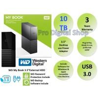 WD Mybook 10TB / External HDD Desktop 3.5 inch / Garansi 3 Tahun
