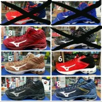 Sepatu Volly Mizuno Wave Lightning Z5 WLZ5 Mid original