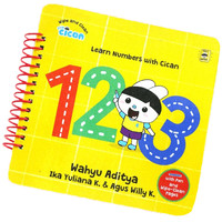 WIPE AND CLEAN: LEARN NUMBER WITH CICAN 123 (BOARDBOOK)