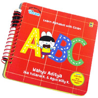 WIPE AND CLEAN: LEARN ALPHABET WITH CICAN ABC (BOARDBOOK)
