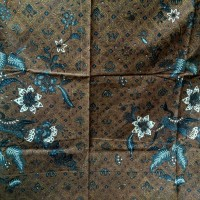 kain batik cap halus motif sidomukti bouqet