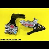 Kaliper Brembo CBR 250RR 250 RR ABS Depan Belakang 1set Bracket WR3