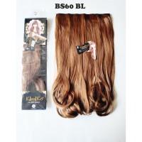 kimiko hairclip biglayer lurus blonde pirang panjang 60cm BS60 BL