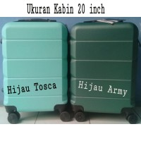 Koper POLO EXPLY Fiber Ukuran 20 inch Kabin Tas Pakaian Travel Bag