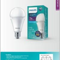 Lampu led emergency philips 7w rechargeable putih
