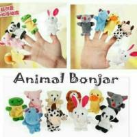 Puppet Finger Animal/Boneka Jari Animal Binatang