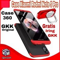 Case Xiaomi Redmi Note 5 Pro Casing 360 GKK Original HardCase