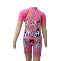 Baju Renang Diving Anak TK Cewek XL LOL