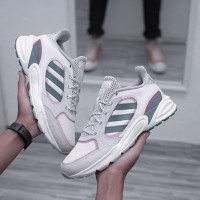 Adidas 90s Valasion Colors: Running White/Tech Ink/Real Pink