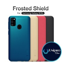 Hard Case Nillkin Super Frosted Shield Samsung Galaxy M30s Ori Casing