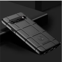 Samsung S10 Plus Rugged Shield Army Military Silicone Premium Case