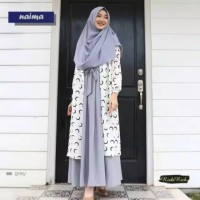 Gamis polos wolfis exclusive